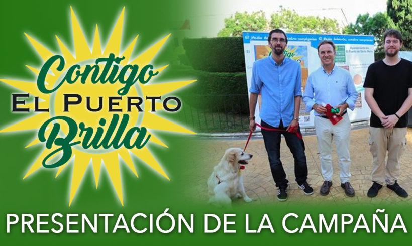 """Presentación de la campaña """"Contigo El Puerto Brilla"""""""