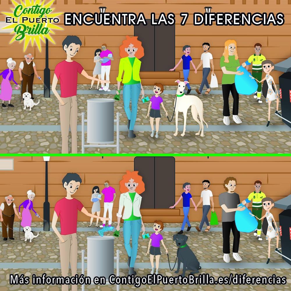 7 diferencias
