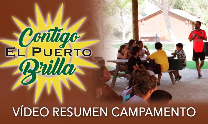 Vídeo resumen de campamento de verano