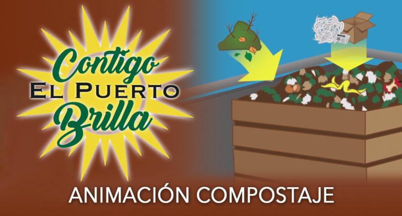 Vídeo infográfico de compostaje